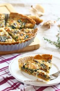Tartaleta de espinacas y setas5 Blog